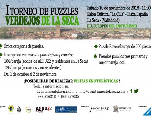 La Seca celebrará su I Torneo de Puzzles combinado con enoturismo