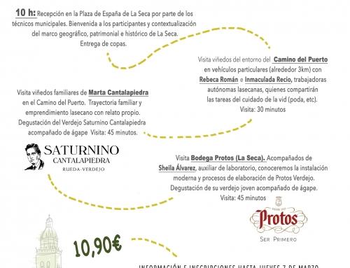 La Seca, copa en mano: La mujer en el mundo del vino. Tiempo de poda en la cuna del verdejo