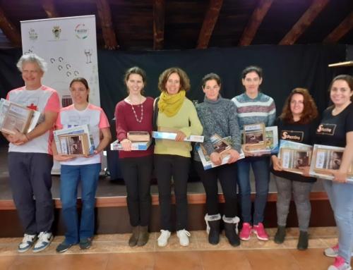 El II Torneo de Puzzles Verdejos de La Seca es ganado por la pareja formada por Gisela Arranz Toro y Elisa Toro Arévalo de Madrid