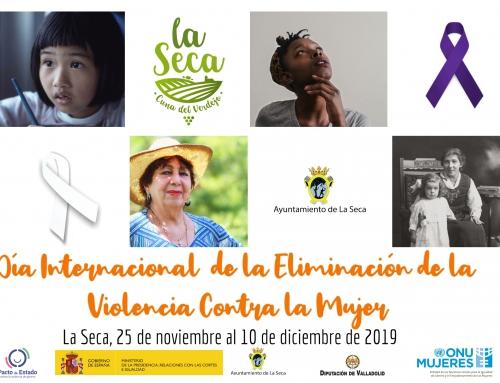 El Ayuntamiento de La Seca inicia su programación de actividades en torno al Día Internacional de la Eliminación de la Violencia Contra la Mujer