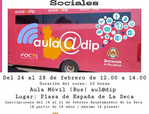 Curso de Informática Internet y Redes Sociales aula@dip de la Diputación de Valladolid