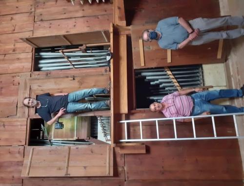 Mantenimiento del Órgano Barroco de la Iglesia de Nuestra Señora de la Asunción