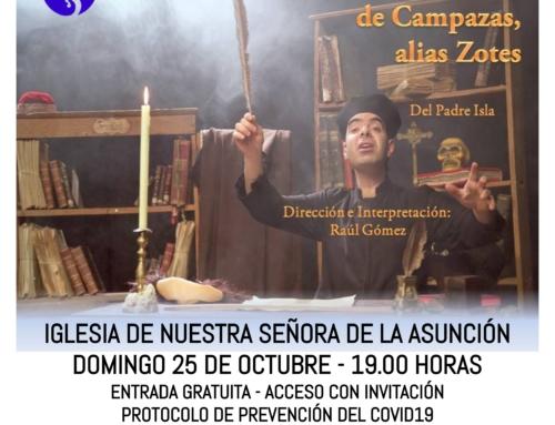 Teatro en La Seca: Fray Gerundio de Campazas con Fabularia Teatro