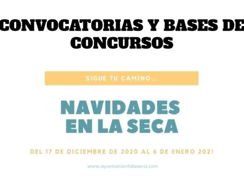 CONVOCATORIAS Y BASES DE CONCURSOS: NAVIDADES EN LA SECA