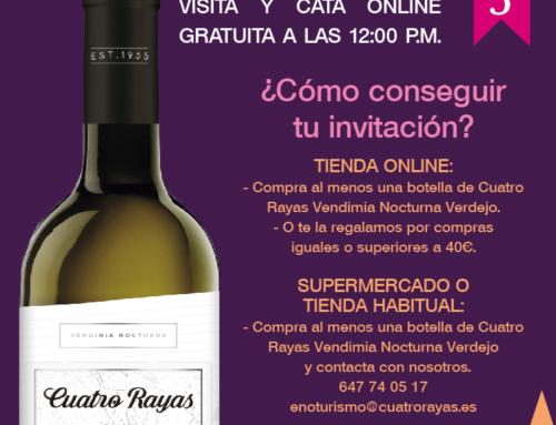 Semana de Vino y Pasión Virtual de la mano de URCACYL y Bodega Cuatro Rayas