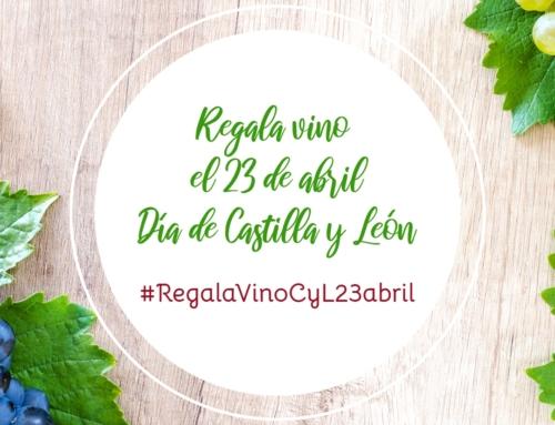 El Ayuntamiento de La Seca en 2021 insiste en la campaña para que el 23 de abril, Día de Castilla y León, se convierta en tradición regalar vino entre los vecinos de la región